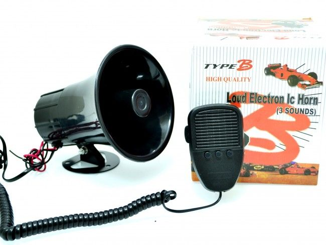 Mощен автомобилен мегафон станция TYPE-B ES15 40W