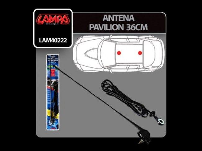 Висококачествена италианска авто антена LAMPA, 402221