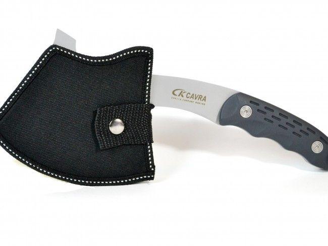 Стоманена многофункционална японска брадва CARVA CURVED от Sanjia Knife & Tool