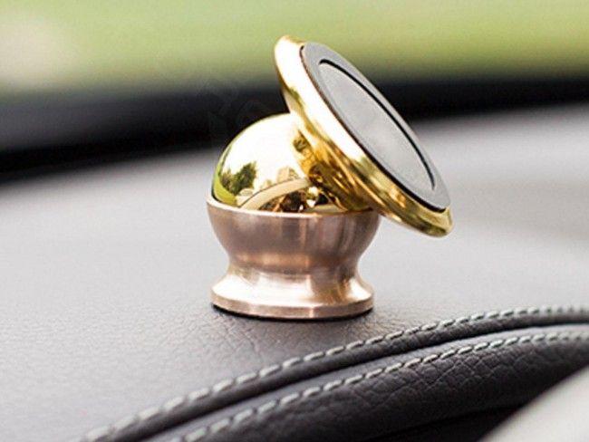 Уникална метална магнитна стойка за телефон Mercedes - семпла, здрава, супер функционална