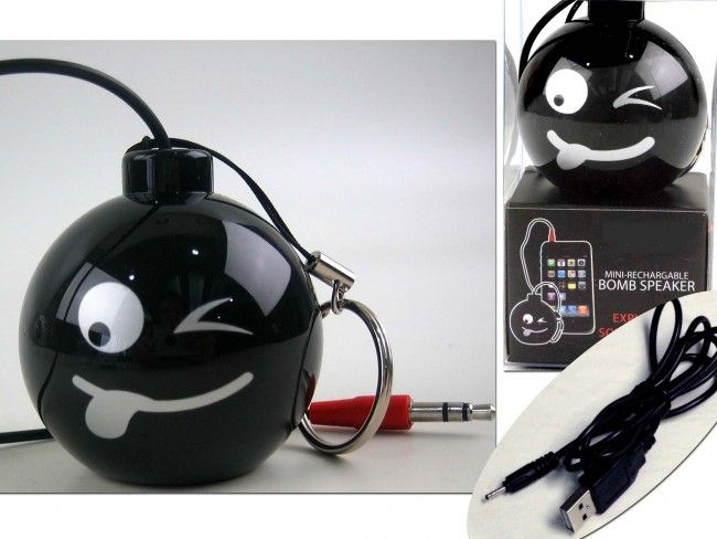 Активна мини тонколонка със силен качествен звук и вградена батерия