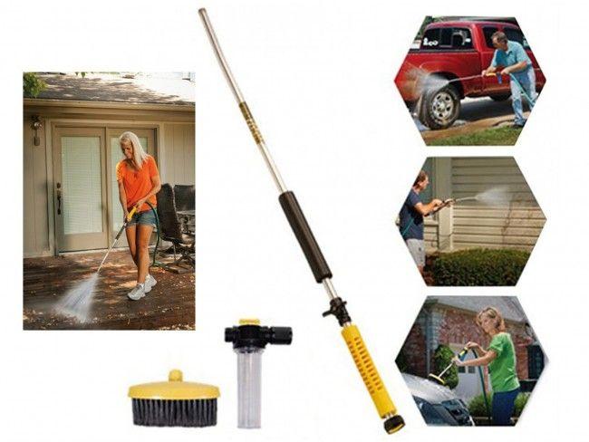 Water Zoom - мие със силата на мощна водоструйна машина дома, градината, колата