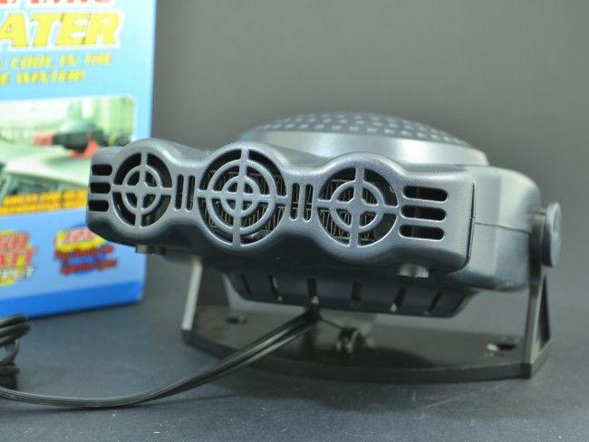 Електрическа печка 124 150W 12V захранване от автозапалка помага в замръзналата кола