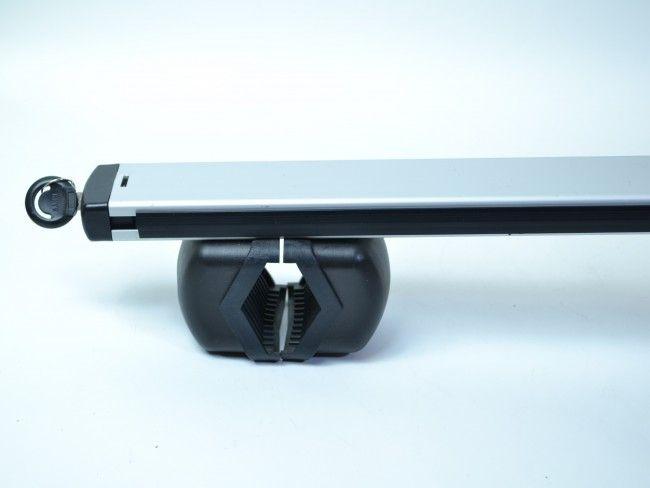 Метален автобагажник за покрив на автомобила RB880 - 2 алуминиеви релси с дължина 125 см