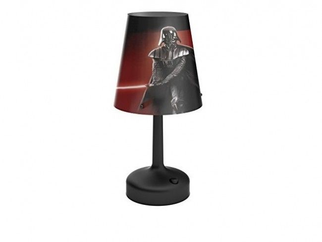 Детскa настолна лампа PHILIPS- Star Wars Дарт Вейдер