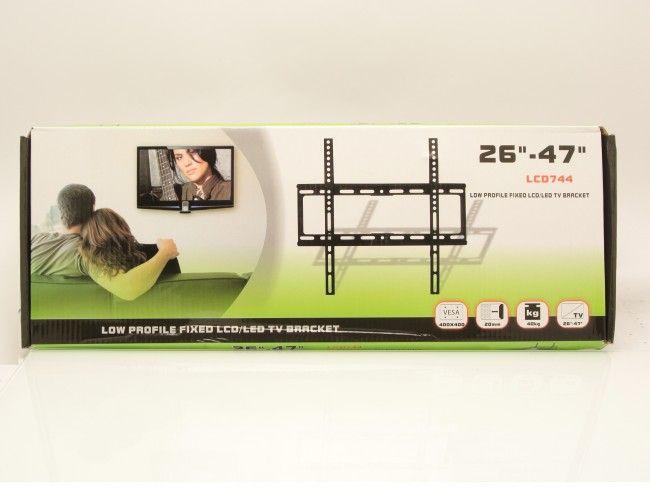 Тънка стенна стойка за големи телевизори с екран 26-47 инча