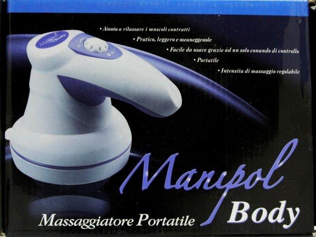 Marupol Body - мощен мрежови масажор с две масажиращи глави