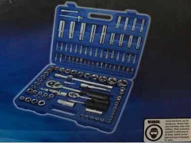 Куфар със 108 инструмента Dr.Socket Wrench Set 108 части