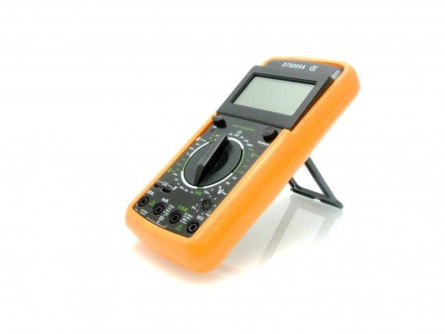 Професионален комбиниран електроизмерителен уред МУЛТИЦЕТ DT9205A