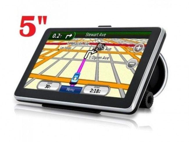 GPS навигация PVG 50MT_V2 5 inches/12.7 см, тъч-дисплей, 8GB памет, слот за карта
