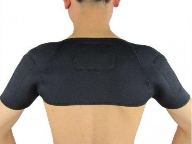 Уникален турмалинов колан - нараменник лекува болки във гърба, плешките и раменете