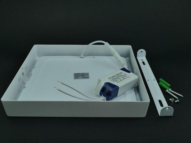 LED осветително тяло за стена или таван с 18W ~AC85~220V 3000K бяла светлина