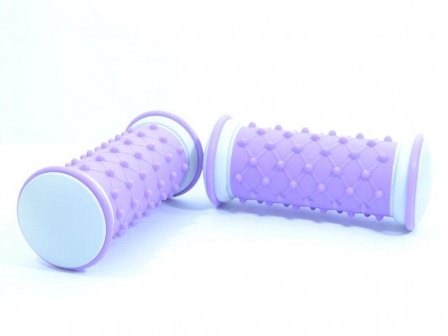 2 броя немски масажни ролки за стъпала - активизират живота и тонуса в цялото тяло