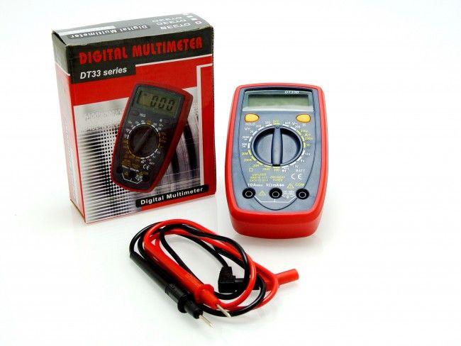 Професионален комбиниран електроизмерителен уред МУЛТИЦЕТ-компакт DT33B