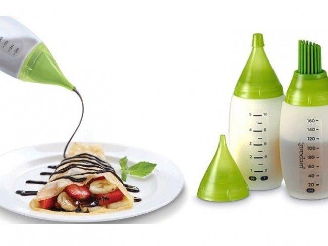 Chef's bottle kit-2 термо-силиконови шишета за мазане,удобни и за микровълнова фурна