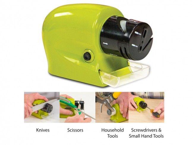 Електрическо точило SWIFTY SHARP за прави и назъбени ножове, отверки и др. остриета, 4хАА