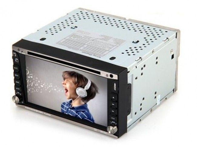 Двоен DIN супер мултимедия за колата KSD-6515A - DVD, MP3 SUPER POWER