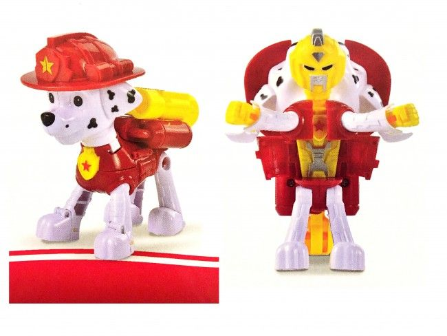 PAW Patrol Transformer Robot - атрактивна играчка куче-робот