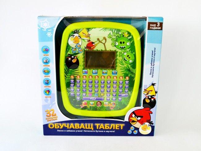 Най-функционалния детски образователен таблет ANGRY BIRDS 3хАА