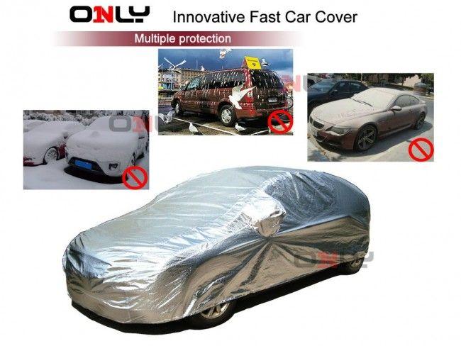 Най-бързо поставящото се покривало за автомобил- FAST CAR COVER, размер L