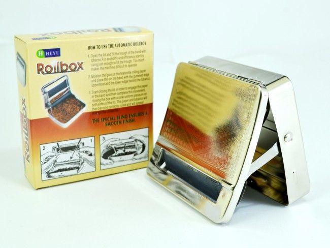 Първокласна метална табакера 101 за свиване на цигари