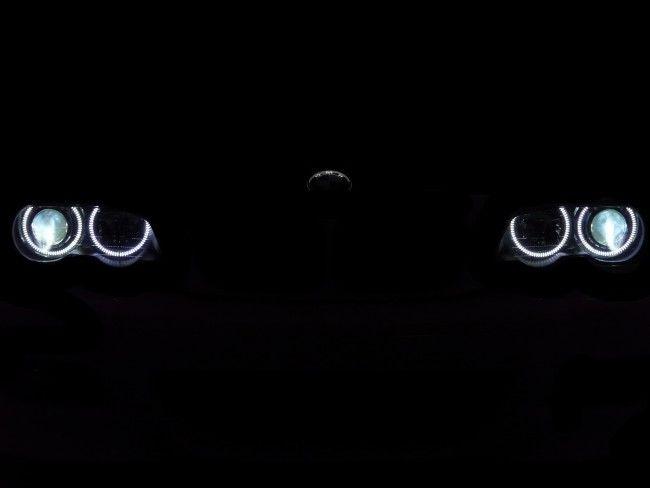 CREE LED фарове ANGEL EYE - ангелско око за BMW 10W BMW Е92, Е93, Е70 (Х8)