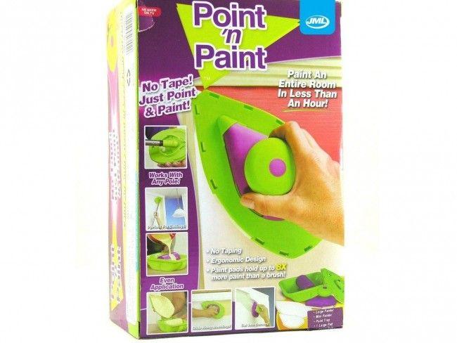 Революционен комплект в боядисването - POINT AND PAINT