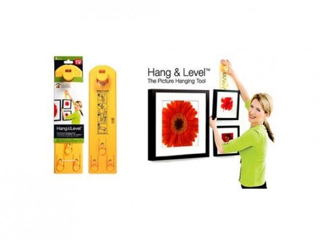 Поставянето на картини и снимки вече е лесно с Hang & Level