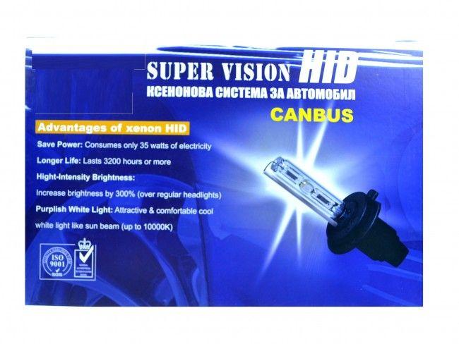 Луксозна CANBUS XENON система за фарове H1