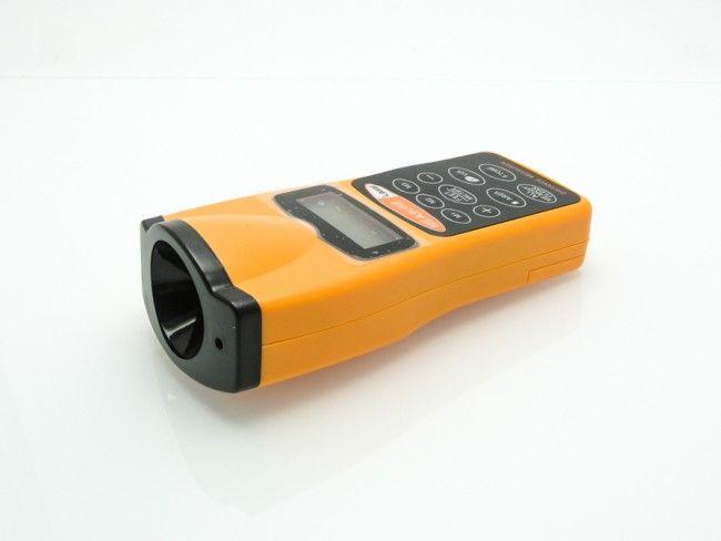 Ултразвукова лазерна ролетка за измерване на дължина, площ и обем