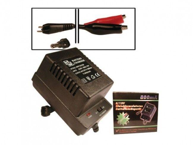 Компактно зарядно устройство за зареждане на акумулатори 6V-12V  MW126C08
