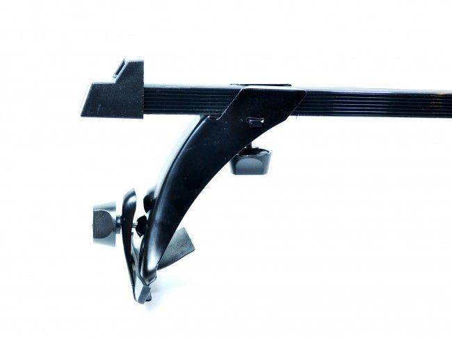 Mетален автобагажник за покрив на автомобила RB100 - 2 релси с дължина 118 см