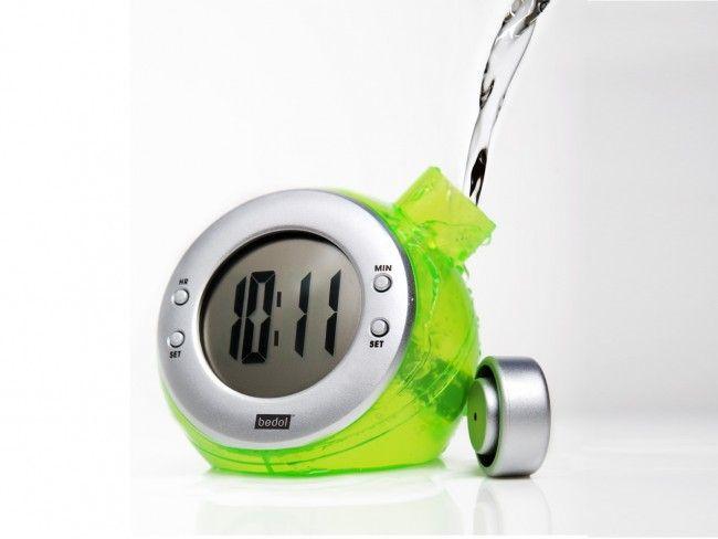 Еко часовник от бъдещето Mini Water Clock работи само с вода