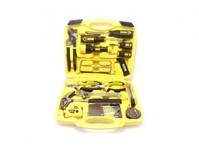 Супер комплект A-189 от 15 инструменти включващ и кутия с 6 бр. малки отверки