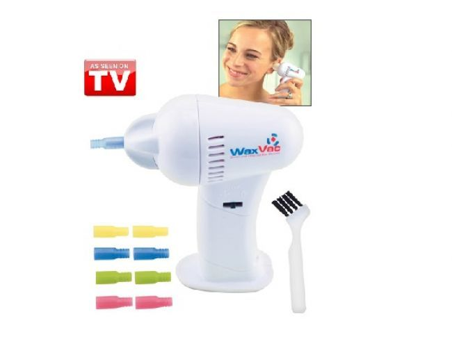 Изгарящо промо - WAX VAC уред за вакуумно почистване на ушните канали