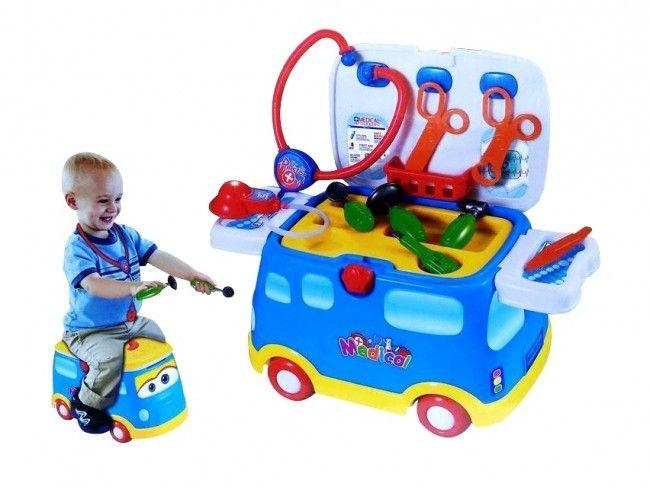 Докторска количка-куфар 661-171