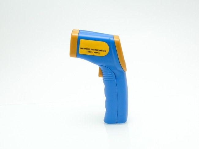 Инфрачервен дистанционен термометър с насочване