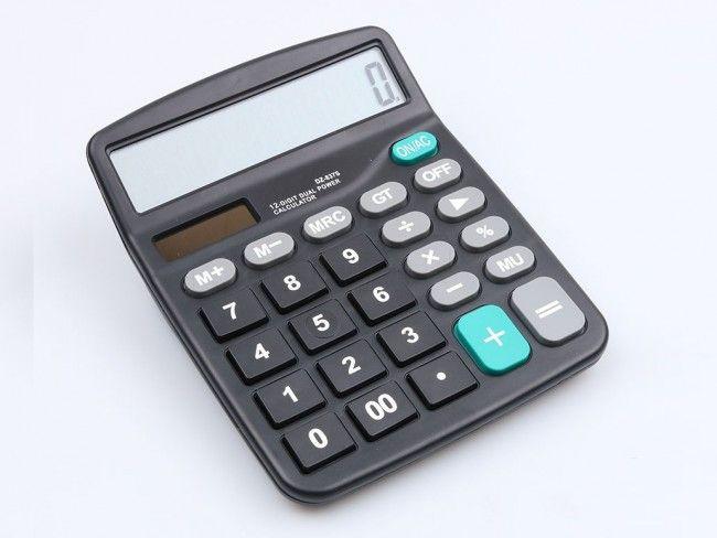 Класически електронен калкулатор KK-837B