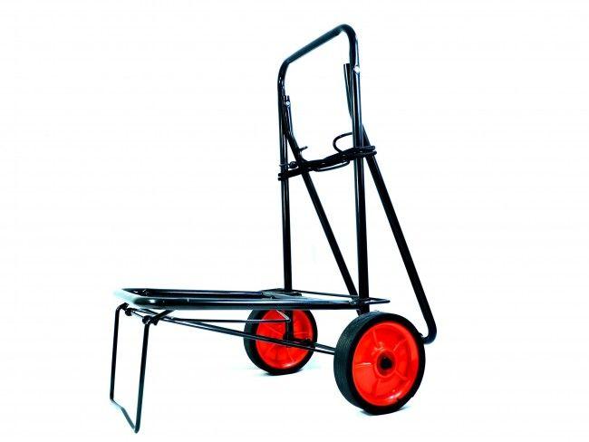 Прекрасна пазарска количка с метално шаси