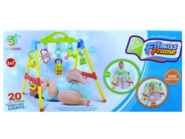 Раздвижете бебешока с активна гимнастика фитнес рамка YING LEXING