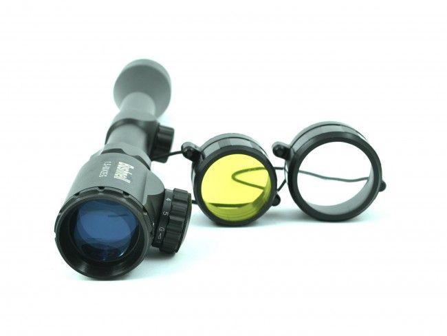 Далекобоен оптичен мерник Bushnell 1.5-6X42EG