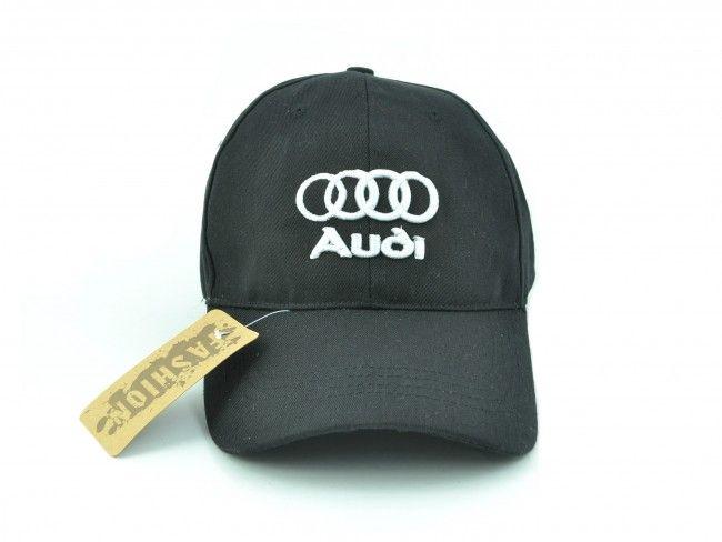 Черна спортна шапка с козирка SPORT BLACK AUDI