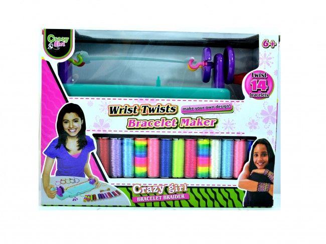 Wrist Twist - стан за бързо плетене на гривни, 3+  години