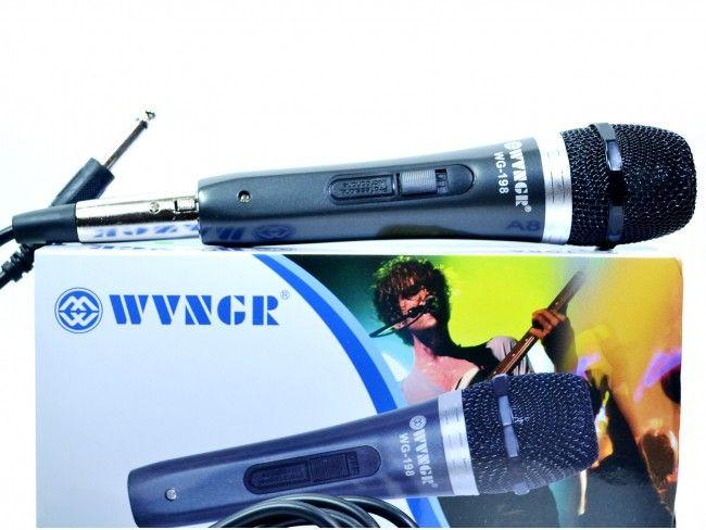 Нискобюджетен професионален кабелен микрофон WG198