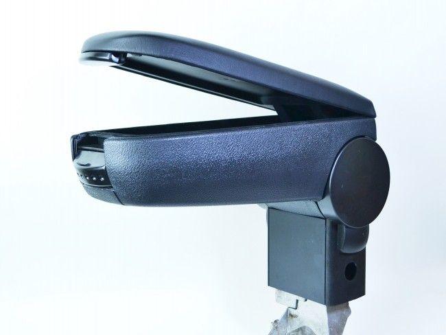 Луксозен подлакътник - бачре за WW Golf 5 - сив или черен цвят
