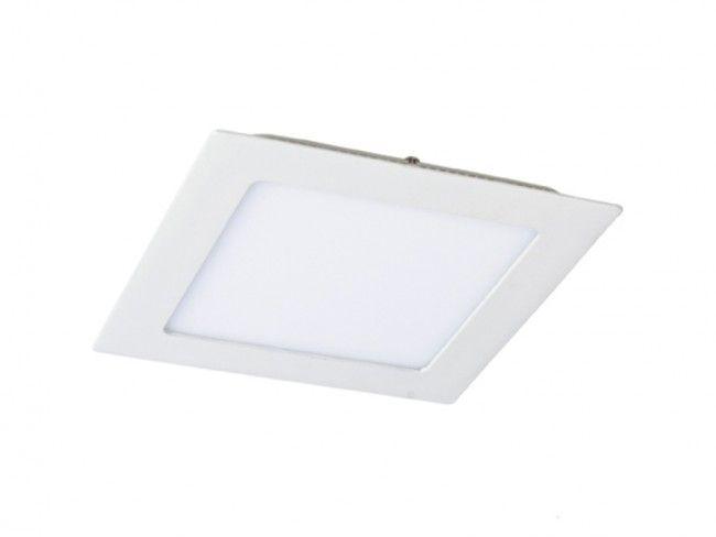 Квадратно LED осветително тяло - висока светимост и консумация 12W, аналог на 150W крушка