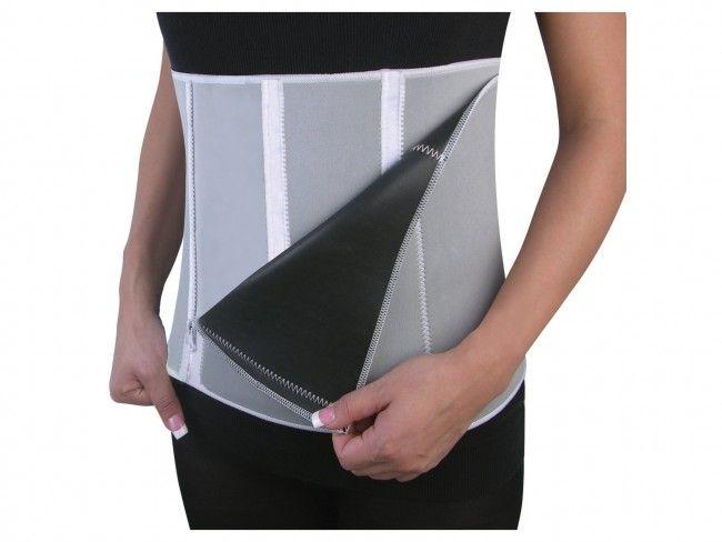 Пристягащ колан за отслабване Slimming belt със сауна ефект и лесно регулируем