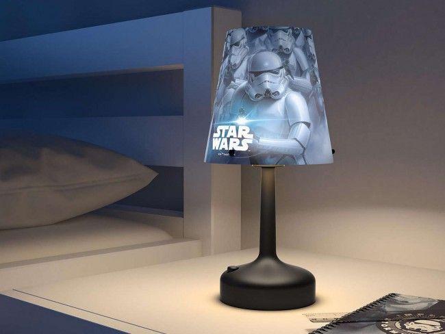 Детскa настолна лампа PHILIPS-  Star Wars Щурмоваци