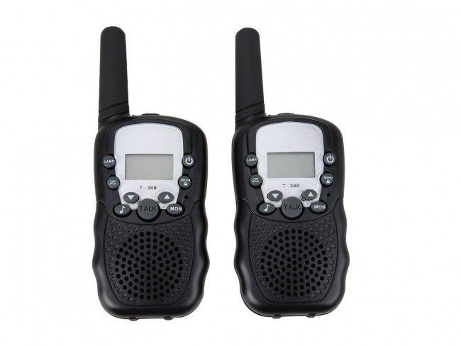 Комплект 2 бр. радиостанция - уоки токи T-388 - 3-5 km