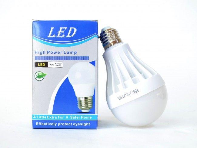 Най-ниска цена за мощна и супер икономична LED крушка 15W цокъл Е27, 3000К топла светлина